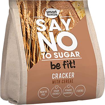 «Smart Formula», крекер Say no to sugar, со злаками, 180г