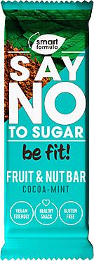 Фруктово-ореховый батончик Cocoa – mint «Smart Formula», 40г