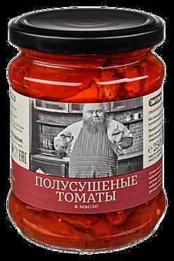 Полусушеные томаты «Tomtom» в масле, 250г
