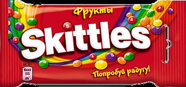 Жевательные конфеты «Skittles» Фрукты, 38г