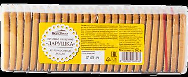 Печенье «ВкусВилл» Дарушка, сахарное, 200г