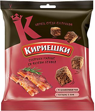 «Кириешки», сухарики со вкусом бекона, 40г