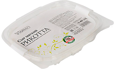 Сыр 45% «ВкусВилл» Рикотта, мягкий, 180г