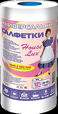 Салфетки «House Lux» универсальные, 125 шт