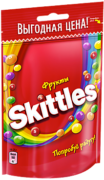 Конфета жевательная «Skittles» Фрукты, 70г