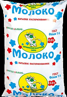 Молоко 3% «Деревенский молочный завод», 1л