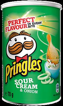 Чипсы «Pringles» Сметана и лук, 70г