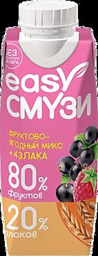 Напиток «Easy Смузи» фруктово-ягодный микс, 250мл