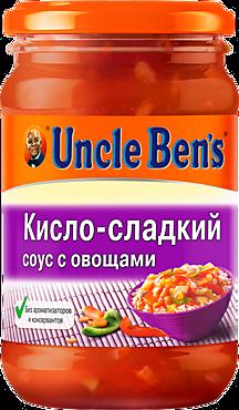 Соус «Uncle Bens» кисло-сладкий с овощами, 210г