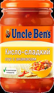 Соус «Uncle Bens» кисло-сладкий с ананасом, 210г