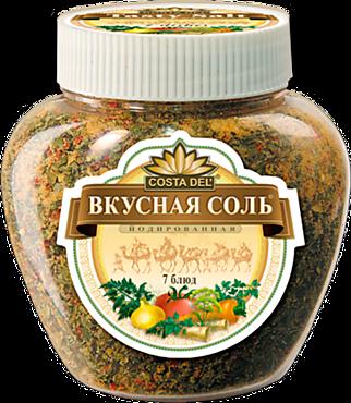 Соль «Вкусная соль» с пряностями и овощами, 400г