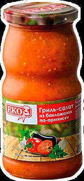 Гриль-салат «EKO» из баклажанов по-армянски, 485г