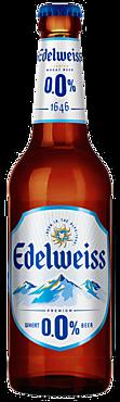 Пивной напиток «Edelweiss» Пшеничный, безалкогольный, 450мл