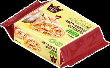 Австрийский штрудель «Штрудель и Ко» с яблоком и корицей, 280г