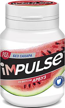Жевательная резинка со вкусом «Арбуз» «Impulse», 56г