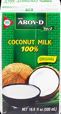 Кокосовый напиток «AROY-D» Coconut milk, 500мл