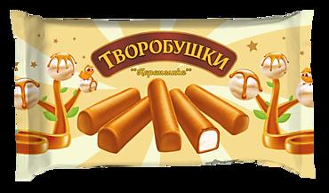 Сырки творожные 21% «Творобушки» Карамелика, 150г