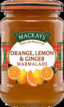 Десерт «Mackays» Апельсин, лимон, имбирь, 340г