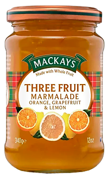 Десерт «Mackays» Три фрукта, 340г