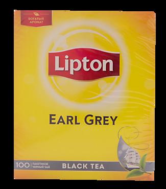 Чай черный «Lipton» Эрел Грей, 100 пакетиков