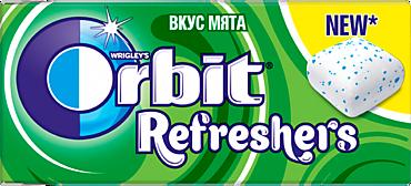 Жевательная резинка «Orbit» Refreshers Мята, 16г