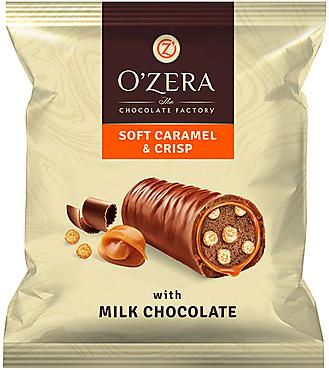 «OZera», конфеты Caramel&Crisp (упаковка 0,5кг)