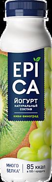 Йогурт питьевой 2.5% «Epica» Киви-Виноград, 260г