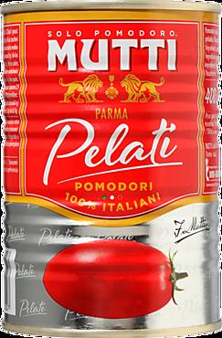 Томаты «Mutti» очищенные, целые, в собственном соку, 400г
