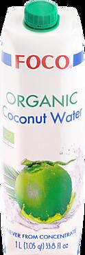 Кокосовая вода «FOCO» Organic, 1л