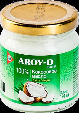 Кокосовое масло «AROY-D» Extra virgin, 180мл