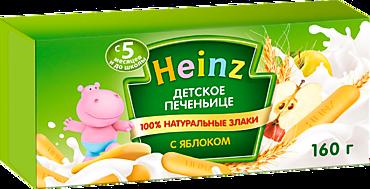 Печенье детское «Heinz» с яблоком, 160г