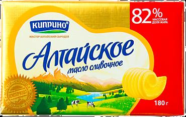 Масло сливочное 82% «Киприно» Алтайское, 150г