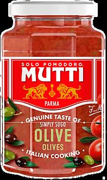 Соус томатный «Mutti» с оливками, 400г