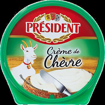 Сыр плавленый 50% «PRESIDENT» Creme De Chevre, 125г