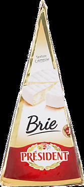 Сыр 60% «PRESIDENT» Бри с белой плесенью, 200г
