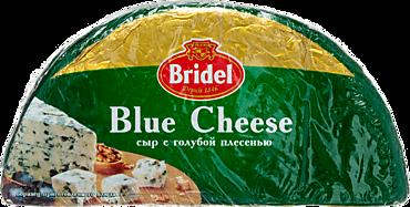 Сыр 51% «Bridel» Blue Cheese, с голубой плесенью, 2шт.