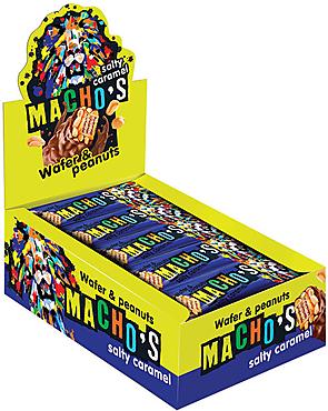 «Macho's» с солёной карамелью и арахисом, 40г