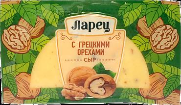 Сыр 50% «Ларец» с грецкими орехами, 245г