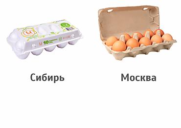 Яйцо куриное С2 (10шт)