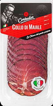 Свинина Collo di Maiale, сыровяленая, 80г