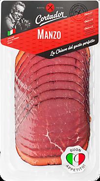 Говядина «Cortador» Manzo, сыровяленая, 80г