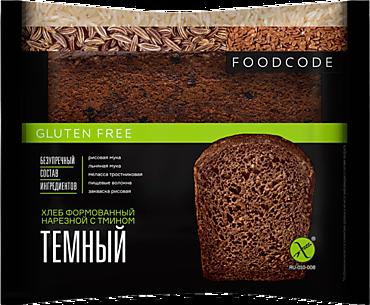 Хлеб «Food code» темный, с тмином, без глютена, 200г