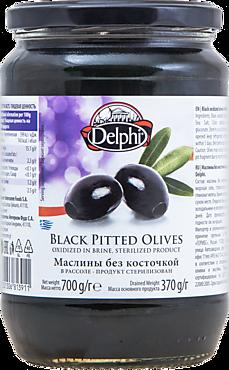 Маслины «Delphi» без косточки, 700г