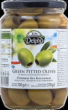Оливки «Delphi» без косточки, 700г