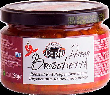 Брускетта «Delphi» из печеного перца, 230г