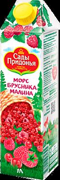 Морс «Сады Придонья» Брусника и малина, 1л