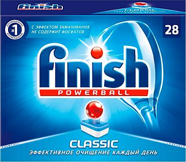 Средство для посудомоечных машин «Finish» Классик, 28шт