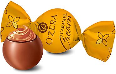 «OZera», шоколадные конфеты Caramel Cream (упаковка 0,5кг)