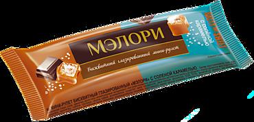 Мини-рулет «Мэлори» с соленой карамелью, 40г