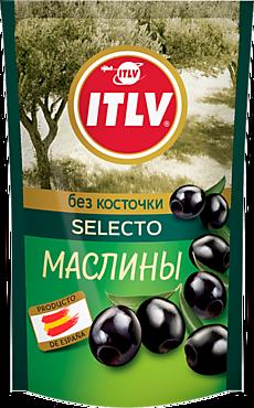 Маслины «ITLV» Selecto, без косточки, 170г